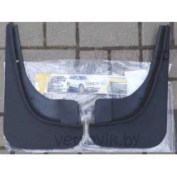 Брызговики для Geely Emgrand X7 передние увеличенные(2шт.)