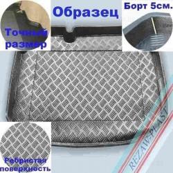 Коврик в багажник Rezaw-Plast для Skoda Fabia Sedan (00-08)