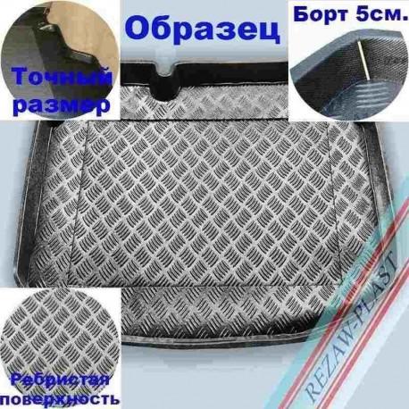 Коврик в багажник Rezaw-Plast для Toyota Land Cruiser 200 (08-) Черный Uncle 88
