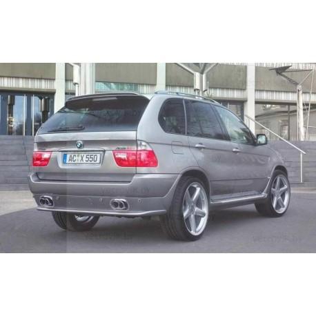 Cпойлер(Lip-спойлер) на крышку багажника для BMW E53 X5 (99-03) AC Schnitzer Tuningdesign(Беларусь)
