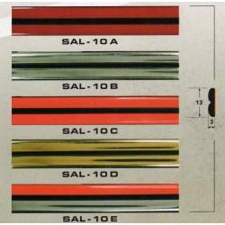 Молдинг автомобильный SAL/10 (13х3 мм.)(цена за 1 метр)