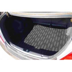 Коврик в багажник Aileron на Hyundai Solaris/ ACCENT I SD (2010-17) (компл. Optima, Comfort)