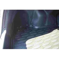 Коврик в багажник Aileron на Hyundai Solaris/ACCENT I SD (2010-17) (компл. Base, Standard)