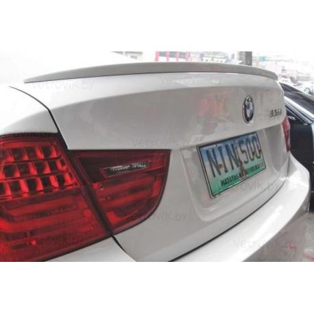 Cпойлер(Lip-спойлер) на крышку багажника для BMW E90 (05-08)HAMANN Tuningdesign(Беларусь)
