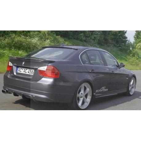 Cпойлер(Lip-спойлер) на крышку багажника для BMW E90 (05-08)AC Schnitzer Tuningdesign(Беларусь)