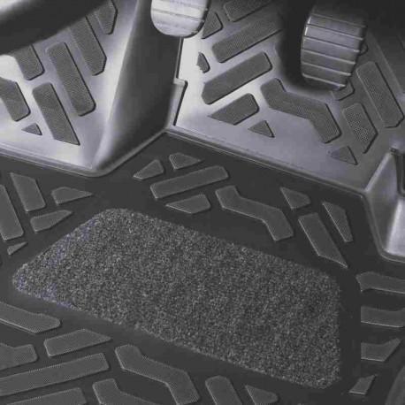 Коврики в салон Aileron на Honda Fit (2007-13) (Правый руль) (3D с подпятником)