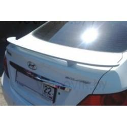"Спойлер на крышку багажника HYUNDAI SOLARIS (2010-) седан ""SIM"" грунт"