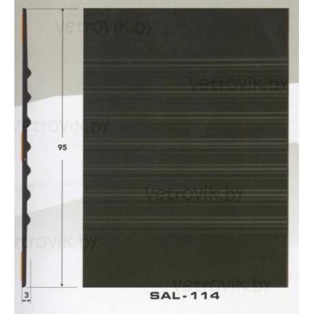Молдинг автомобильный SAL/114 (95х3 мм.)(цена за 1 метр)