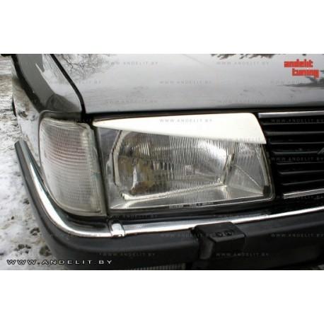 Реснички на фары Andelit для Audi 100 C3 (1982-1990 г.в.)