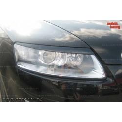Реснички на фары Andelit для Audi A6 C6 (2005-2008 г.в.)