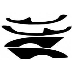 "Реснички на фары FORD MONDEO III (2000-2007) ""ДЕЛЬТА"""