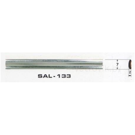 Молдинг автомобильный SAL/133 (7х2 мм.)(цена за 1 метр)