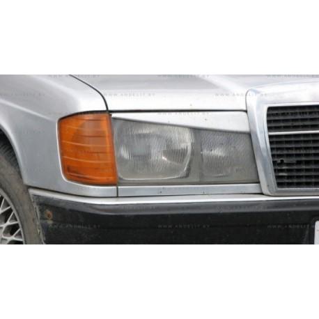 Реснички на фары Andelit для MERCEDES 190 (1982-1993, кузов W201)