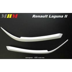 Реснички на фары ABC на RENAULT LAGUNA II (01-05)