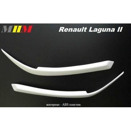 Реснички на фары ABC для RENAULT LAGUNA II (01-05)