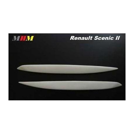 Реснички на фары ABC для RENAULT SCENIC II (03-09)