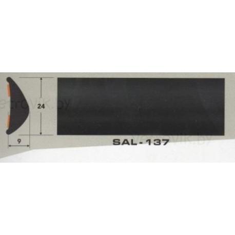 Молдинг автомобильный SAL/137 (24х9 мм.)(цена за 1 метр)