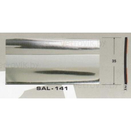 Молдинг автомобильный SAL/141 (35х2 мм.)(цена за 1 метр)