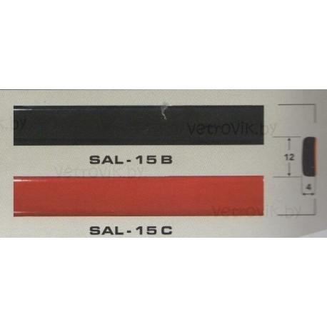 Молдинг автомобильный SAL/15 (12х4 мм.)(цена за 1 метр)