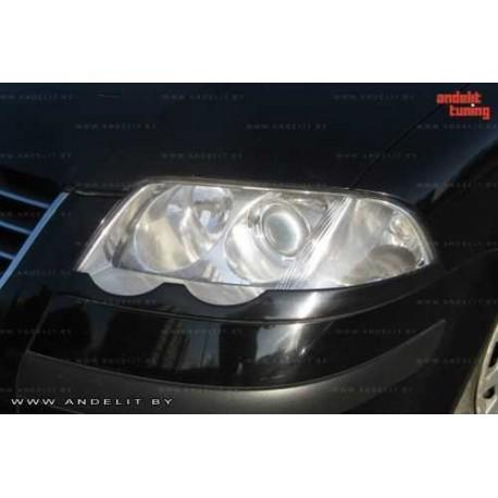 "Реснички на фары VW PASSAT B5+ (2000-2005) нижние ""ANDELIT"""
