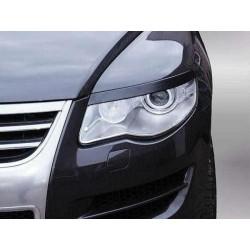 "Реснички на фары VW TOUAREG I (2007-2010, рестайлинг) ""CARLSTEELMAN"""