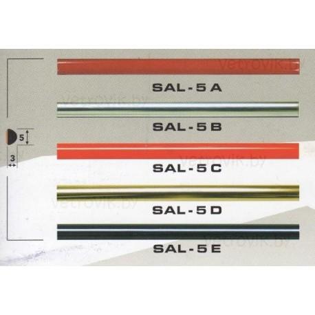 Молдинг автомобильный SAL/5 (5х3 мм.)(цена за 1 метр)
