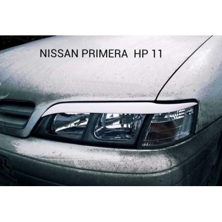 """Реснички на фары NISSAN PRIMERA (1999-2001,кузов P11 рестайлинг) """"CARLSTEELMAN"""""""