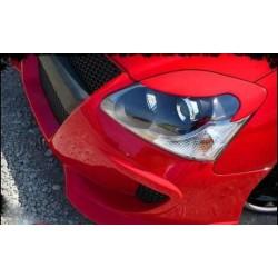 """Реснички на фары HONDA CIVIC VII (2001-2006) седан """"CARLSTEELMAN"""""""