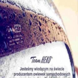 """Ветровики """"Heko"""" вставные на Renault R 19 (88-95) 5D (+OT) (комплект 4шт.)"""