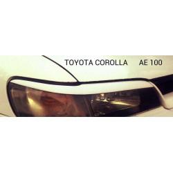 """Реснички на фары TOYOTA COROLLA (1991-1998, кузов E100) """"CARLSTEELMAN"""""""
