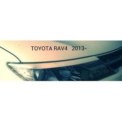 "Реснички на фары TOYOTA RAV4 IV (2013-) ""CARLSTEELMAN"""
