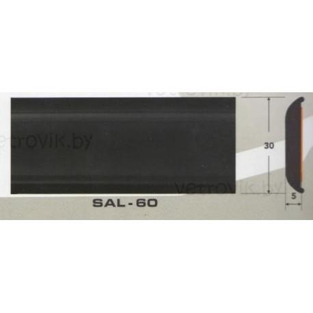 Молдинг автомобильный SAL/60(30х5 мм.)(цена за 1 метр)