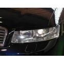 """Реснички на фары AUDI A4 II (2000-2005,кузов 8Е,В6) """"CARLSTEELMAN"""""""