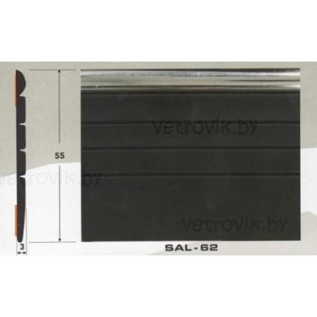 Молдинг автомобильный SAL/62 (55х3 мм.)(цена за 1 метр)