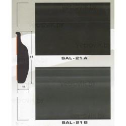 Молдинг автомобильный SAL/21 (51х11 мм.)(цена за 1 метр)