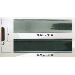 Молдинг автомобильный SAL/7 (18х4 мм.)(цена за 1 метр)