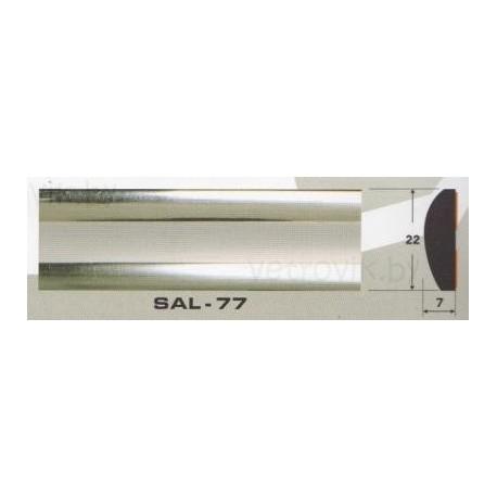 Молдинг автомобильный SAL/77 (22х7 мм.)(цена за 1 метр)