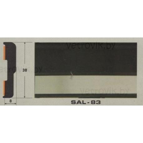 Молдинг автомобильный SAL/83 (38х8 мм.)(цена за 1 метр)