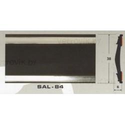 Молдинг автомобильный SAL/84 (38х6 мм.)(цена за 1 метр)