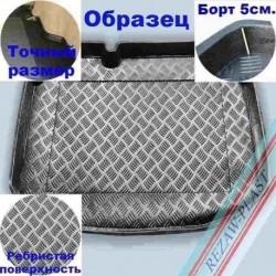 Коврик в багажник Rezaw-Plast для Fiat Doblo (5 Seats) (09-) с раздвижными дверями