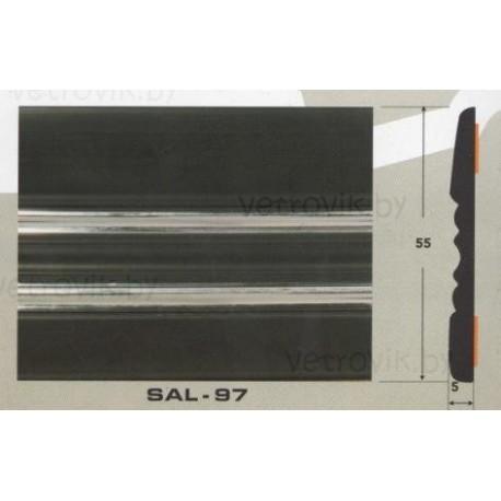 Молдинг автомобильный SAL/97 (55х5 мм.)(цена за 1 метр)