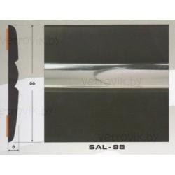 Молдинг автомобильный SAL/98 (66х6 мм.)(цена за 1 метр)