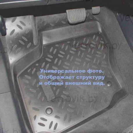 Коврики в салон Aileron на Ford Tourneo Custom (2013-)(передние,2 шт.)